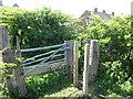 NZ3270 : Gate near New York by Geoff Holland