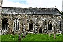 TM1469 : Thorndon: All Saints Church by Michael Garlick