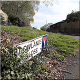 SZ0795 : East Howe: Dowlands Close by Chris Downer