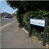 SZ0696 : Kinson: Durdells Avenue by Chris Downer