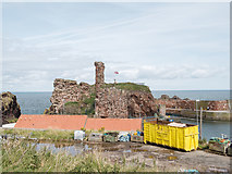 NT6779 : Dunbar Castle and Harbour view by Martin Froggatt