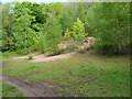 SJ6308 : The firing range stop butts by Richard Law