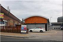 TQ1883 : Industrial units by Alperton Station by David Howard
