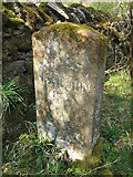 NY6121 : Old Boundary Marker by Mike Rayner