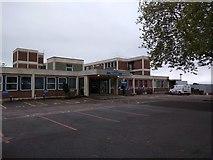 SX9392 : Main entrance to Royal Devon and Exeter Hospital, Heavitree by David Smith