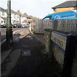 SZ0894 : Moordown: Elmes Road by Chris Downer