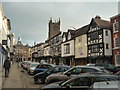 SO5174 : Broad Street (Ludlow) by Fabian Musto
