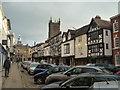 SO5174 : Broad Street (Ludlow) by Fabian Musto