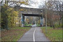 SU6000 : St Ann's Hill Road Bridge by N Chadwick