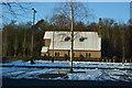 TQ6141 : Chapel and car park, Pembury Hospital by N Chadwick