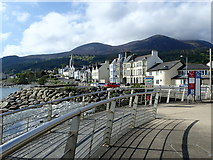 J3730 : View South across the Glen Estuary from Newcastle's Central Promenade by Eric Jones