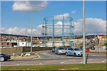 TQ3303 : Gasholder, Kemp Town, Brighton by Robin Webster