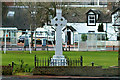 NS9346 : Carstairs War Memorial by David Dixon