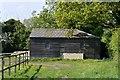 TM2362 : Earl Soham, Boundary Farm. Agricultural building by Michael Garlick