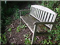 ST7169 : David Barker seat by Neil Owen