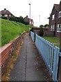 SE2535 : Footpath from Broad Lane to Broadlea Street by Stephen Craven