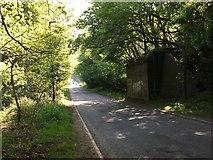 SK0305 : Former bridge support, Brownhills by Michael Westley