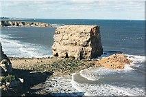 NZ4064 : Marsden Rock by Les Hull