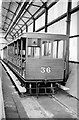 SC3977 : Manx Electric Railway trailer 36 at Derby Castle – 1963 by Alan Murray-Rust
