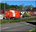 ST3091 : TNT lorry, Malpas Road, Newport by Jaggery