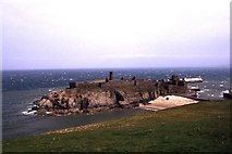 SC2484 : St Patrick's Isle, Peel by Colin Park