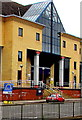 ST3187 : Thank you NHS + Key Workers sign outside Newport Central Police Station by Jaggery