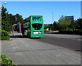 ST3486 : Newport Bus double-decker, Central Avenue, Newport by Jaggery