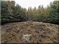 NH6432 : Kerb Cairn Eastertown by valenta