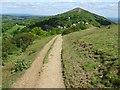 SO7643 : Path on the Malvern Hills by Philip Halling