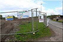NS4967 : Bridge construction site at Abbotsinch Road by Thomas Nugent