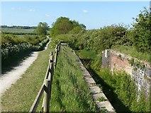 SK6636 : Cropwell Bottom Lock by Alan Murray-Rust