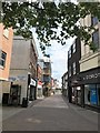 TF6120 : A deserted High Street in King's Lynn - 3 by Richard Humphrey