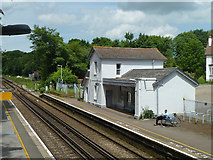 TR2548 : Shepherdswell station by Robin Webster