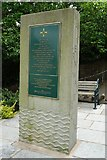 SO7745 : Memorial to Malvern Water Cure by Philip Halling