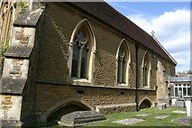 TQ0044 : Holy Trinity, Bramley (Surrey) - south elevation by David Kemp