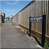 SZ0794 : Ensbury Park: Furzebank Lane by Chris Downer