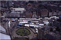 TF3244 : Market Day at Boston as seen from Boston Stump by Colin Park