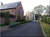 NZ2567 : New houses, La Sagesse, Jesmond by Graham Robson