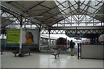 SU6400 : Portsmouth & Southsea Station - inside by N Chadwick