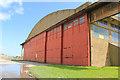 NY1253 : Aircraft Hangar by Phill