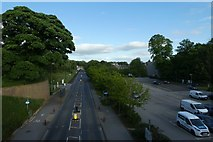 SE6250 : University Road from Library Bridge by DS Pugh