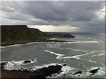 C9444 : View across the bay to Giant's Causeway by Martyn Pattison