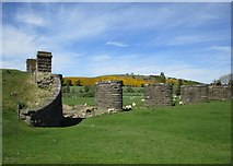 NT0136 : Remains of railway viaduct, Wolfclyde by Alan O'Dowd