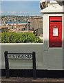 SX9372 : Postbox, Shaldon by Derek Harper