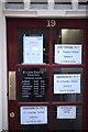 TF0920 : The Dentist's Door during shutdown. by Bob Harvey