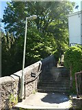 SX9192 : Barbican Steps, Exeter by David Smith
