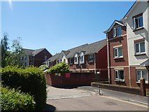 SX9192 : Barbican Court, off Exe Street, Exeter by David Smith