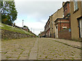 SE2231 : Stone-setted road in Fulneck village by Stephen Craven