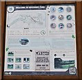 NO2601 : Information board by Bill Kasman