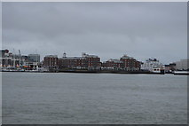 SZ6299 : View across Portsmouth Harbour from Gosport by N Chadwick